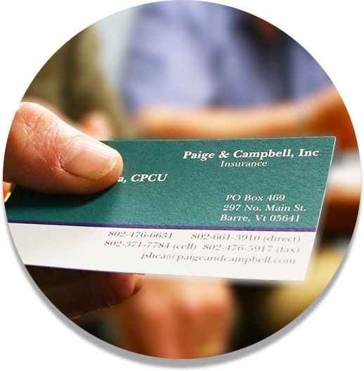 Vermont Insurance | Paige & Campbell